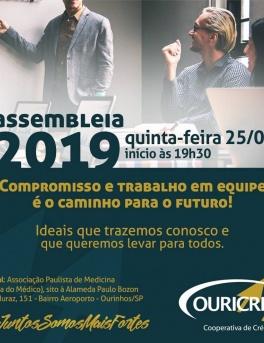 Comunicado Importante: Assembléia 2019